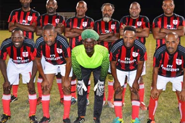 Image: The victorious Anse la Raye team against BTC