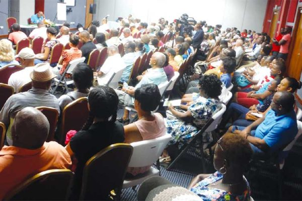 Image: This year's AGM attracted a huge turnout.