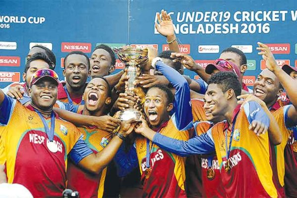 Image: West Indies to defend Under-19 World Cup. (Getty Images)
