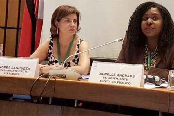 Image: Andrea Sanhueza and Danielle Andrade Goffe.