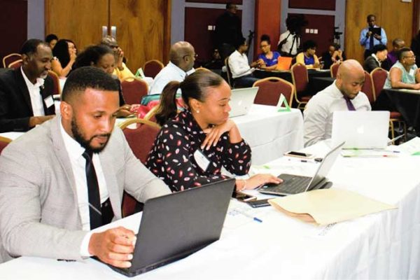 Image: The recent CARIFORUM–EU Economic Partnership Agreement (EPA) Workshop on Regional Business to Business Strategic Networking focused on making regional goods and services market-ready for the European market.