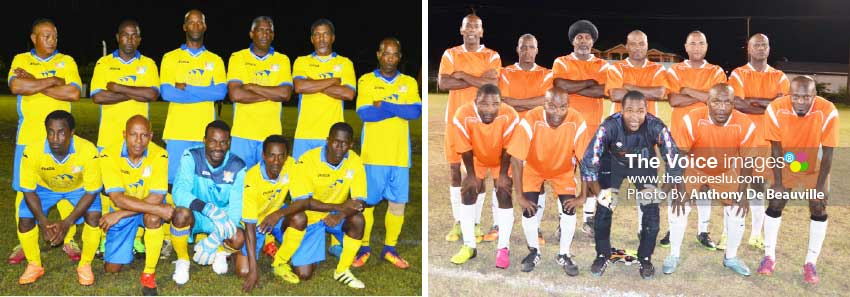 Image: (L-R)Caricom Masters and Behind the College are in a must-win situation this weekend. (PHOTO: Anthony De Beauville)