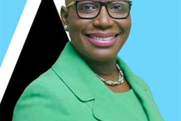 Image of Sustainable Development Minister, Dr. Gale Rigobert,