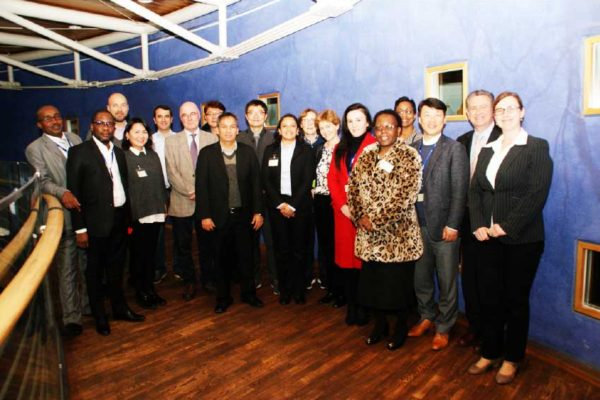 Image: Participants at the International Study Tour in Luxembourg.