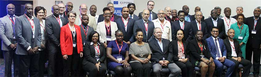 Image: Participants at the recent Private Sector Engagement Meeting in Jamaica.