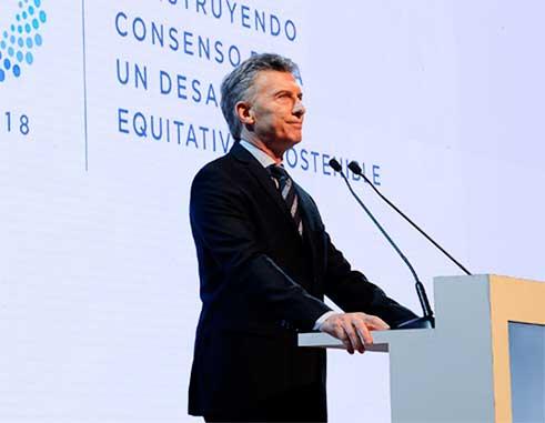 Image of President Mauricio Macri of Argentina.