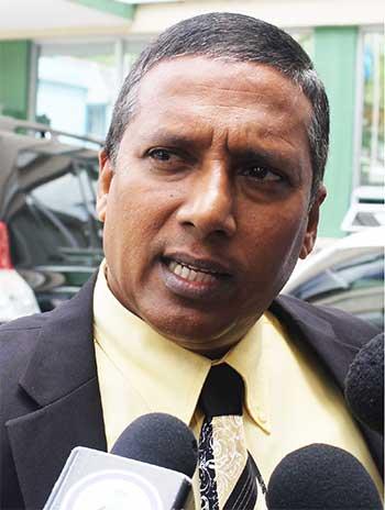 Image of Economic Development Minister, Guy Joseph