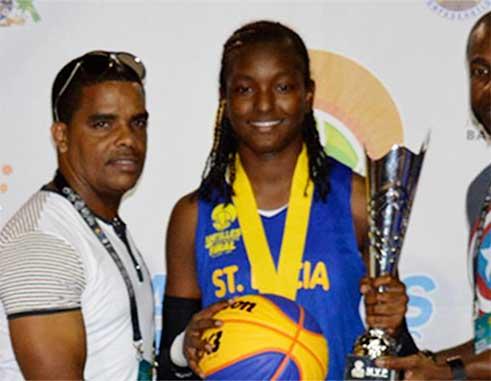 Image of IBF 3x3 female MVP Ramani Lewis-Emmanuel