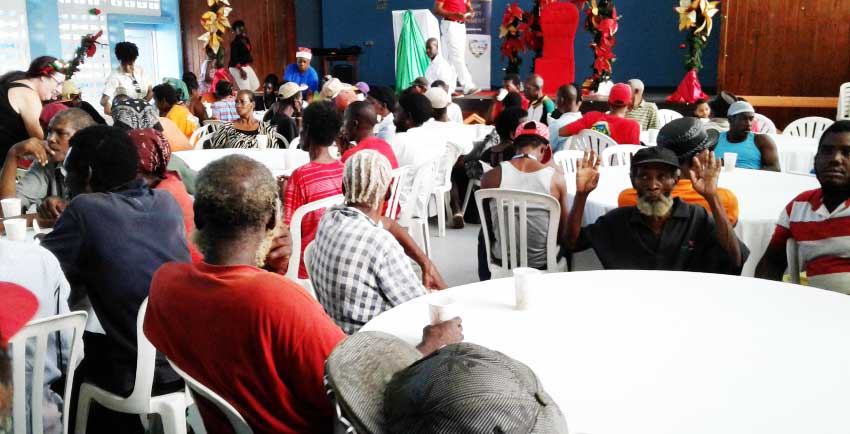 Image: Boxing Day Lunch - compliments Sandals Resorts and The Salvation Army.