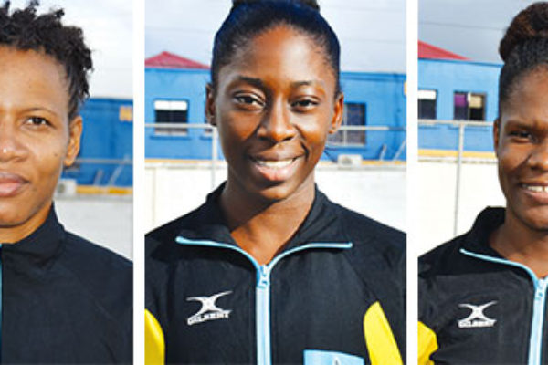 Image: (L-R) Some members of team Saint Lucia: Shem Maxwell (captain), RomellaHunte, Verne Alexander, IannaHippolyte and Saint Lucia MVP, Judy Mathurin. (PHOTO: Anthony De Beauville)