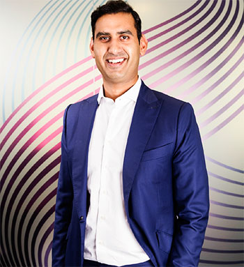 Image of Shuja Khan, Chief Commercial Officer, C&W Communications.