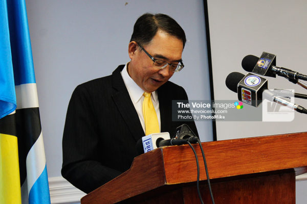Image of Taiwan's Ambassador Douglas Shen