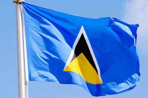 St.. Lucia Flag