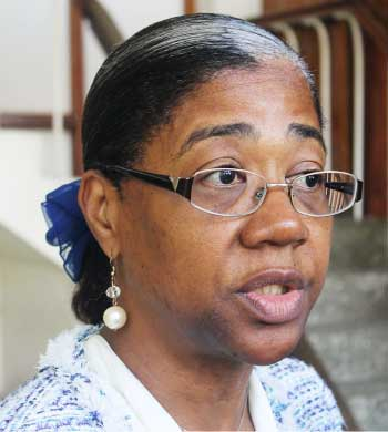Image of Minister for Health, Mary Isaac