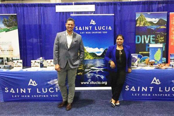 Image: Representatives at the SLTA U.S. Inspiration and Travel Tour.