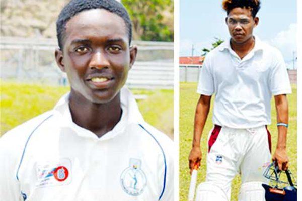 Image: Kimani Melius (West Indies U19 opening batsman), Jermain Harding