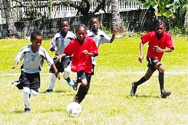 Image: (L-R) Some of the action on the opening day in CFC Northern Zone U10s. (PHOTO: Anthony De Beauville)