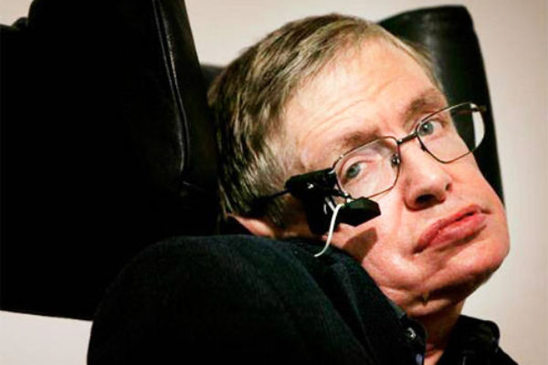 Stephen Hawking. [PHOTO: The UK Independent]