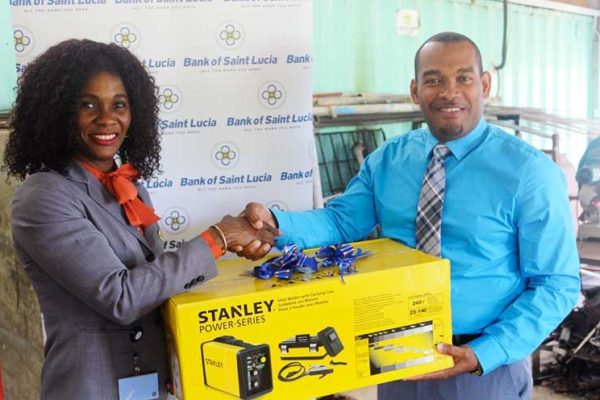 Image: BOSL Donates Arc Welding Machine