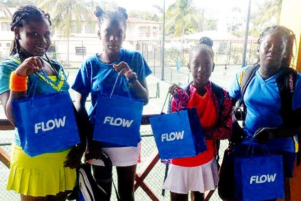 Image: Team Saint Lucia, Alysa Elliott, Iyana Paul, Mahkya Suffren and Latoya Murray. (PHOTO: SLNTC)