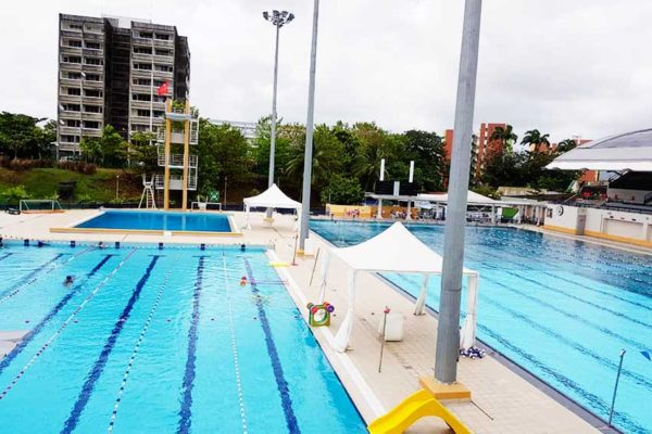 Image: International swimming facility in Martinique (Photo: SLASA)