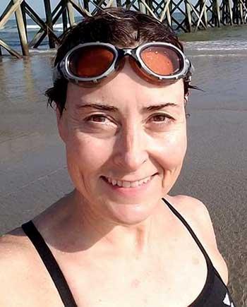 Image of Marathon swimmer Molly Nance (Photo: MN)