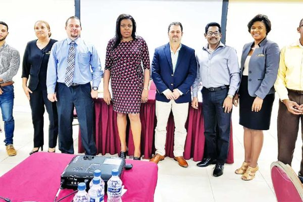 Image: Newly-elected President Marguerite Desir along with her executive members, have committed to working with all manufacturers to ensure continued and improved best practice and delivery of excellent products and services both for the local and international markets