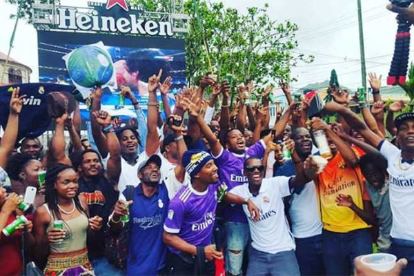 Image: Viewing Party for 2018 UEFA Champions League