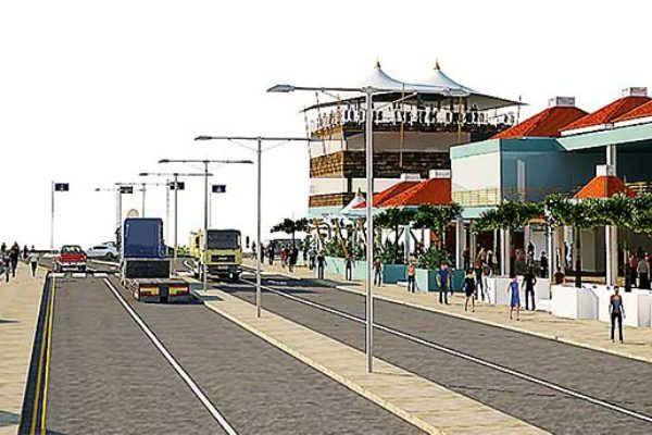 This is what the Castries Market is planned to look like...