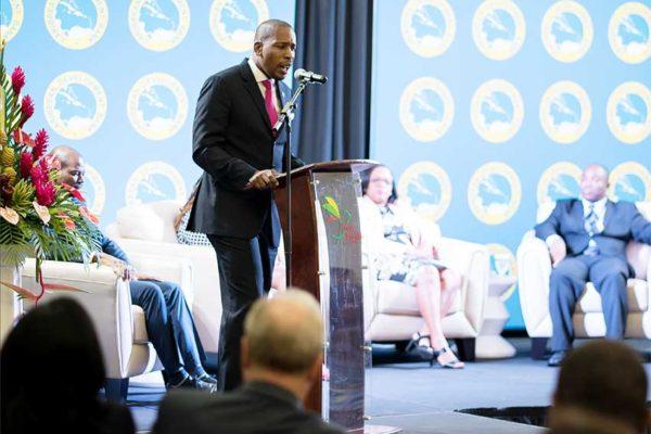 Image of ECCB Governor Dr. Patrick Antoine