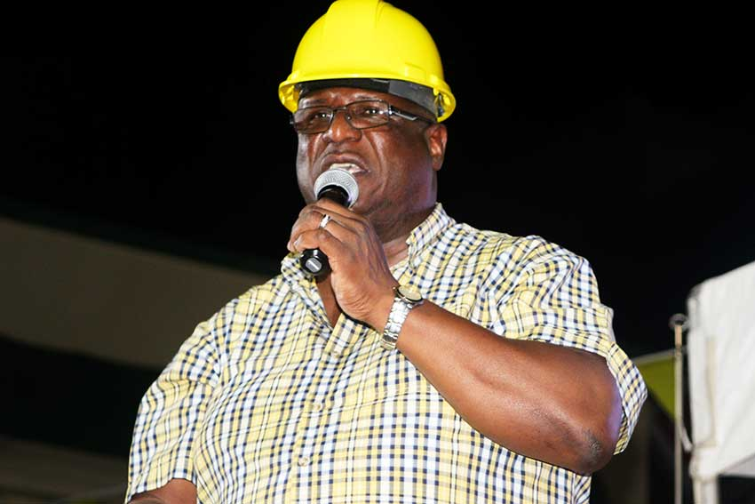 Image of Infrastructure Minister and former PM, Stephenson King