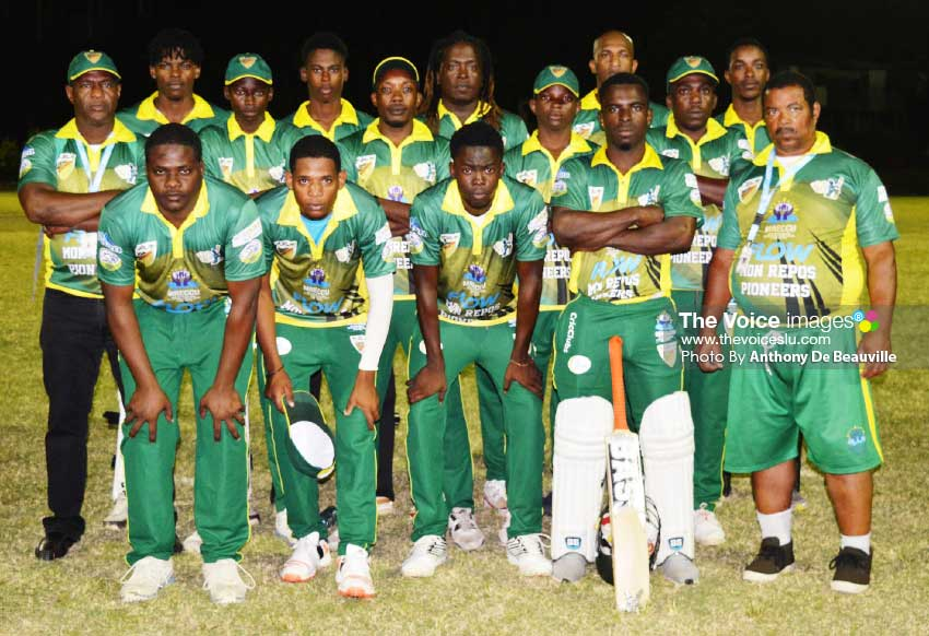 Image: Mon Repos Renegades will do battle with Vieux Fort North Raiders. (PHOTO: Anthony De Beauville)