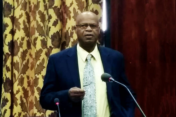 Image of former Micoud South MP, Arsene James