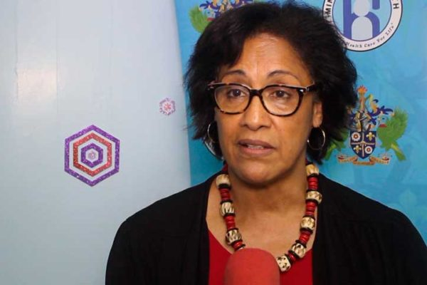 Valerie Wilson–Director of the Caribbean Med Labs Foundation