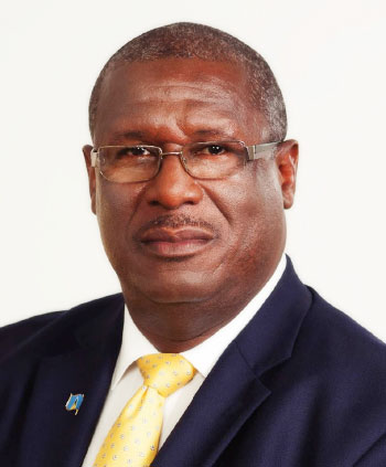 Image of Minister for Infrastructure, Ports, Energy & Labour, Stephenson King