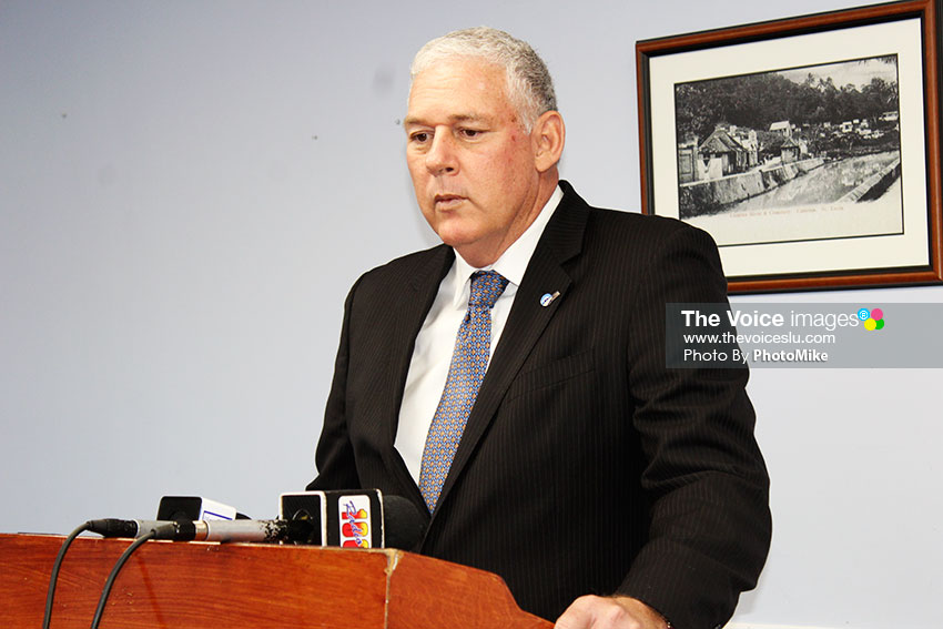 Image of Prime Minister Allen Chastanet [PHOTO: PhotoMike]
