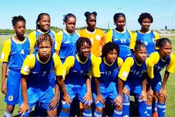Image of National under 15 female team