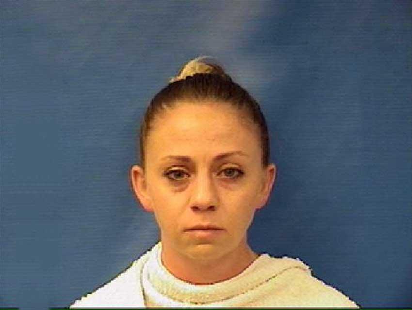 Image of Amber Guyger's mugshot (KAUFMAN COUNTY JAIL)