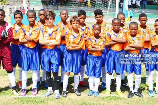 Image: Big win for Valley Soccer FC U13s, 8-0 over VSADC. (Photo: Anthony De Beauville)