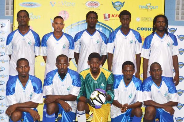 Image: (L-R) WASCO and Bel Jou Hotel start their campaign in the knockout phase on a winning note. (PHOTO: Anthony De Beauville)