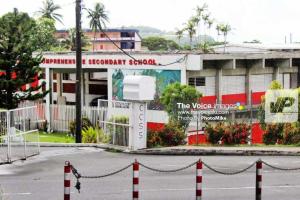 Image of Castries Comprehensive School. (PHOTO: By PhotoMike)