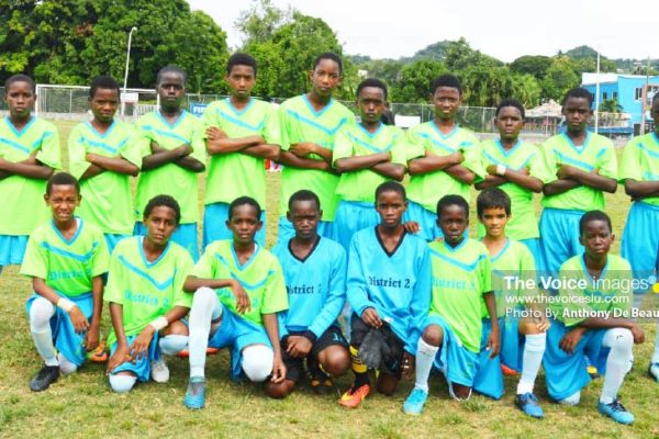 Image: District 2 primary school football team (PHOTO: Anthony De Beauville)