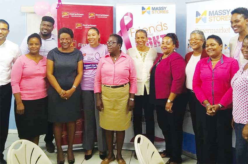 Image: Massy Stores has thrown its support behind the CIBC FirstCaribbean Walk For The Cure.
