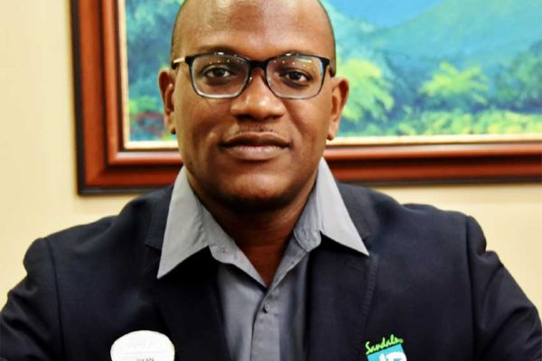Image of Mr. Ryan Matthew, the new overall Director for Human Resources at Sandals Resorts International (SRI), effective October 1, 2018, with responsibility and oversight for SRI's entire Human Resources portfolio, encompassing all resorts on all islands.