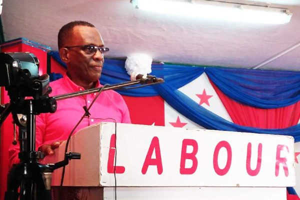 Image of SLP Leader Philip J. Pierre