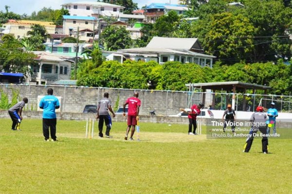 Image: Woule Laba action last Sunday at the Marchand Grounds. (PHOTO: Anthony De Beauville)