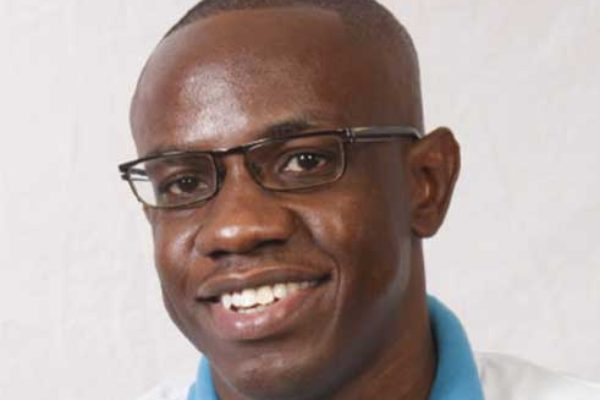 Image of Automotive Art St Lucia's General Manager, Mr. Lyndell Halliday