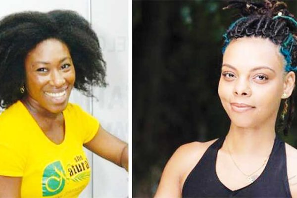 Image: There is only one day left for voting to propel Saint Lucia's nominees for the Caribbean Wellness Ambassador into the final round of the contest. IN PHOTO: Abigail Sandy and Kestin Greco