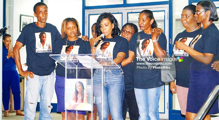 Image: Tuesday night's vigil also heard a plea for Botham Jean's supporters to also pray for justice for Kimberly de Leon as well. (PHOTO: PhotoMike)