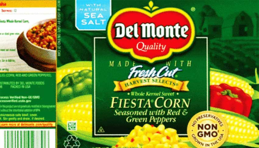 Image of Del Monte packing